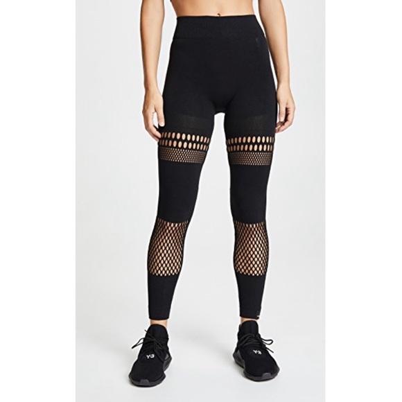 f87ed3e76844e Adidas by Stella McCartney Pants | Stella Mccartney Warp Knit Tights ...